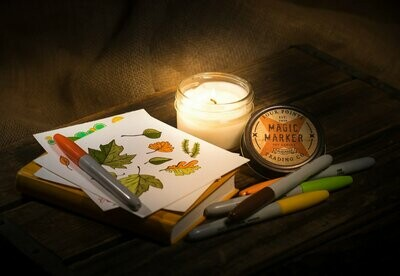Magic Marker 4 Oz Soy Candle