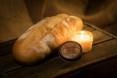 Fresh Baked Bread Soy Candle, 4 Oz