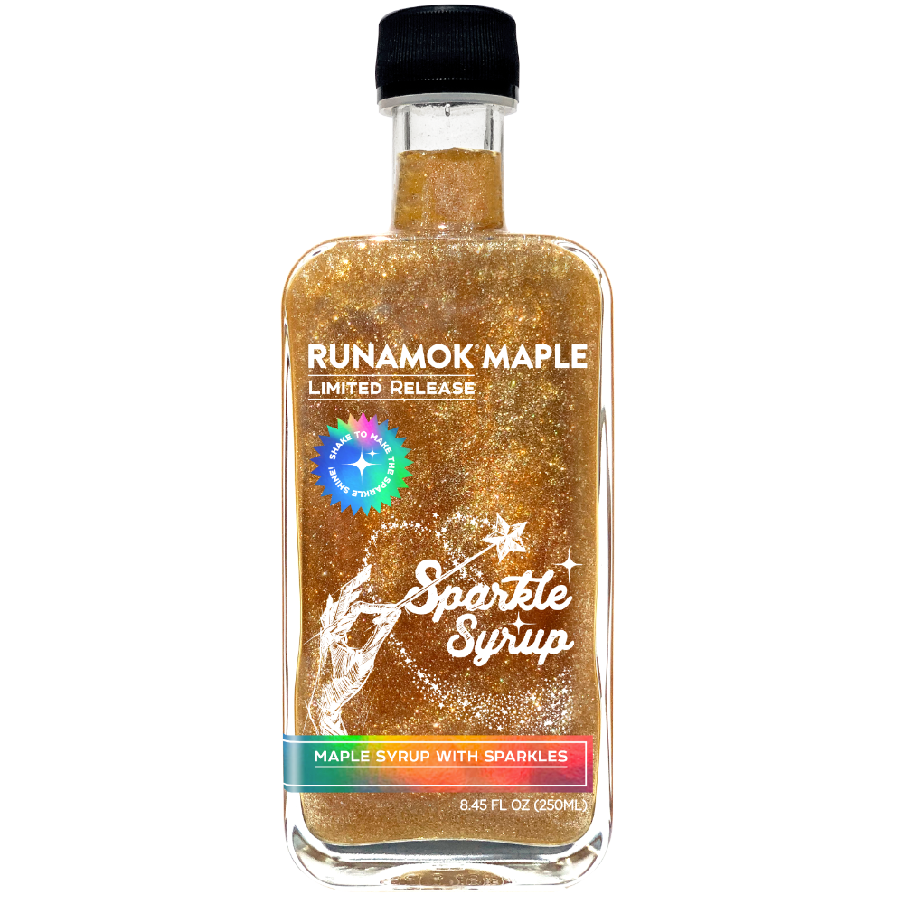 Limited Edition Sparkle Maple Syrup