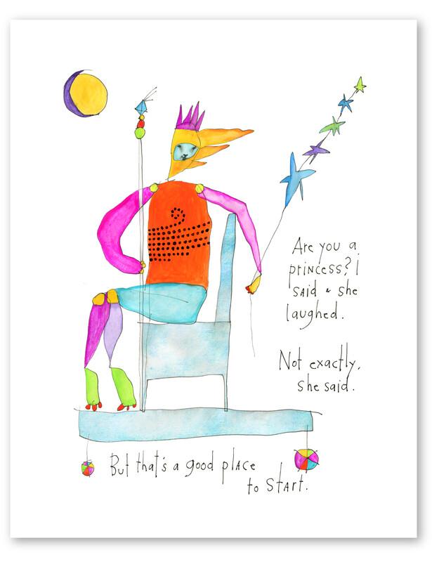 Beyond A Princess Print, 8