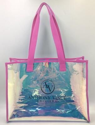 Metallic AV Handbag - Pink