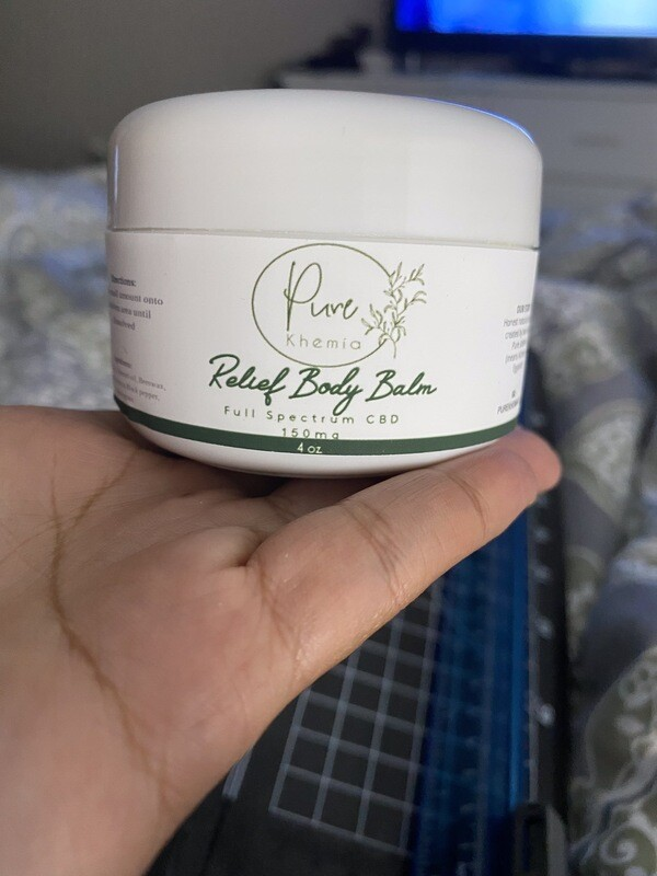 Infused Relief Body Balm