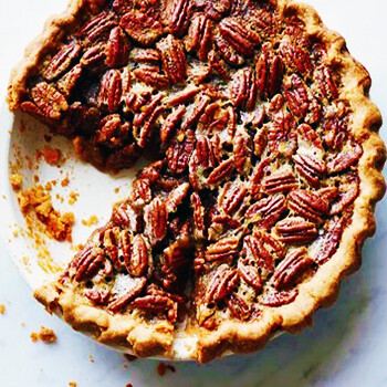 Pecan Bourbon Pie