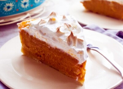 Sweet Potato Pie w/ Marshmallow Fluff