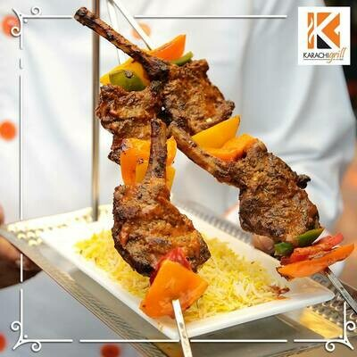 Red Zone Lamb Chops Skewer (4pcs)