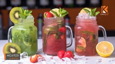 MOJITOS (Strawberry/ Kiwi)