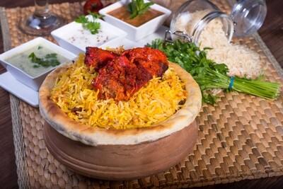Chicken Tandoori Dum Biryani