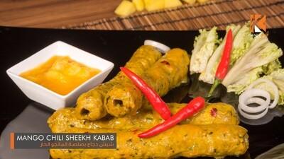 Mango Chilli Seekh Kabab