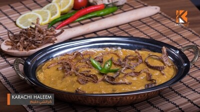 Karachi Chicken Haleem