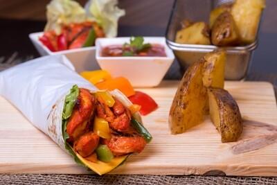 Chicken Tikka Cheese Roll