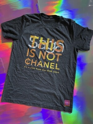 This Is Not ¢hanel - NFC clothing - Dark Grey Shirt