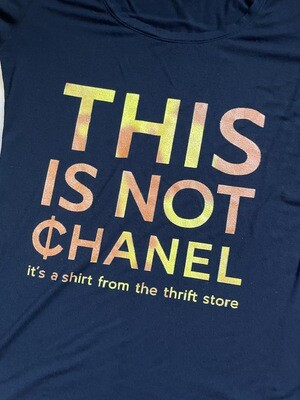This Is Not ¢hanel - NFC clothing - Womxn Scoop Neck