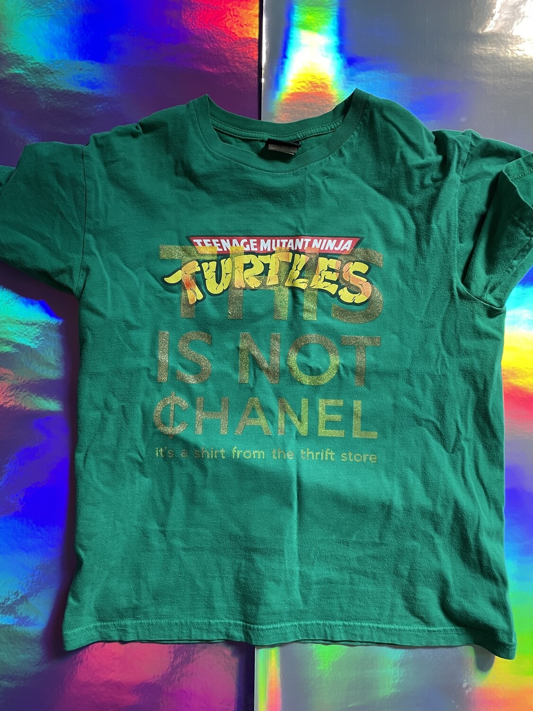 This Is Not ¢hanel - NFC clothing - Green Mutant Ninja Turtles