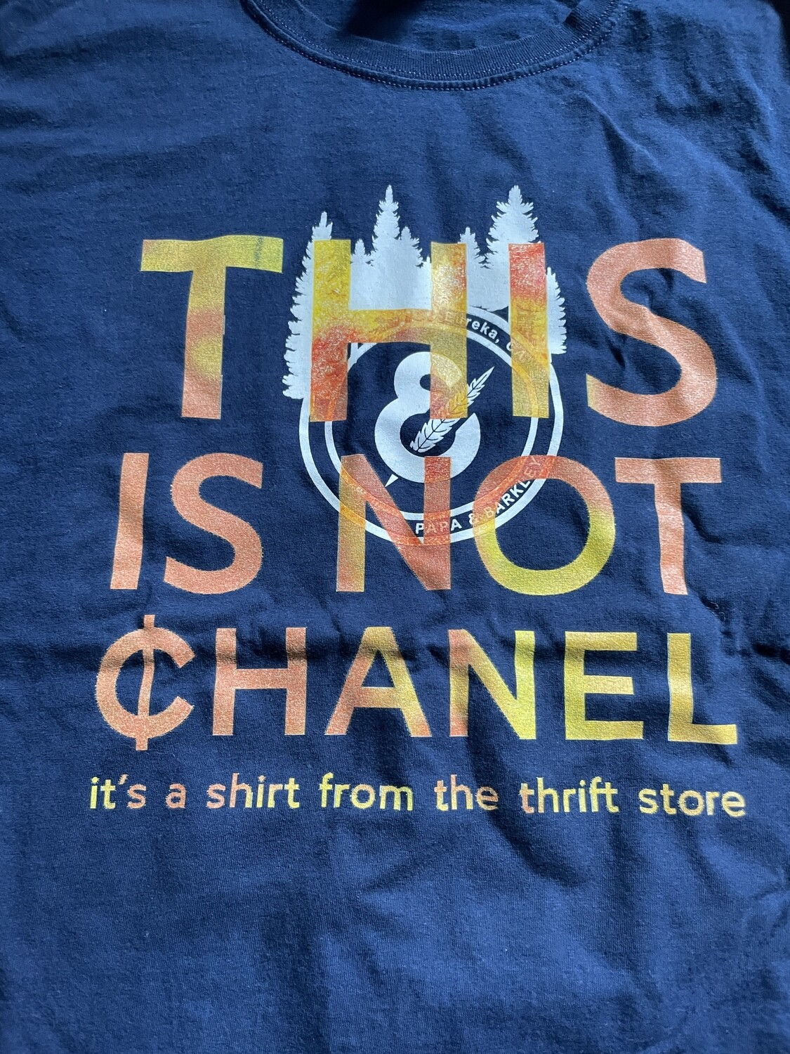 This Is Not ¢hanel - NFC clothing - Papa & Barkley Navy Shirt
