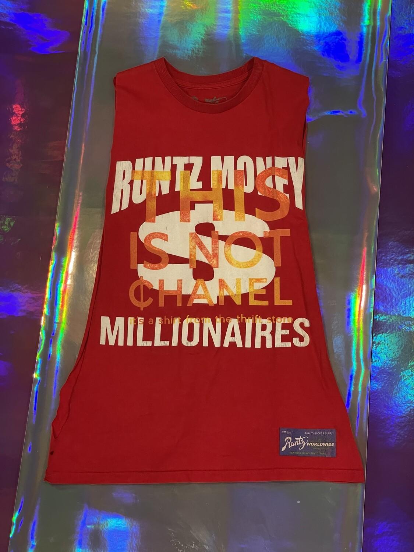 This Is Not ¢hanel - NFC clothing - Runtz Money Millionaires Red Shredder