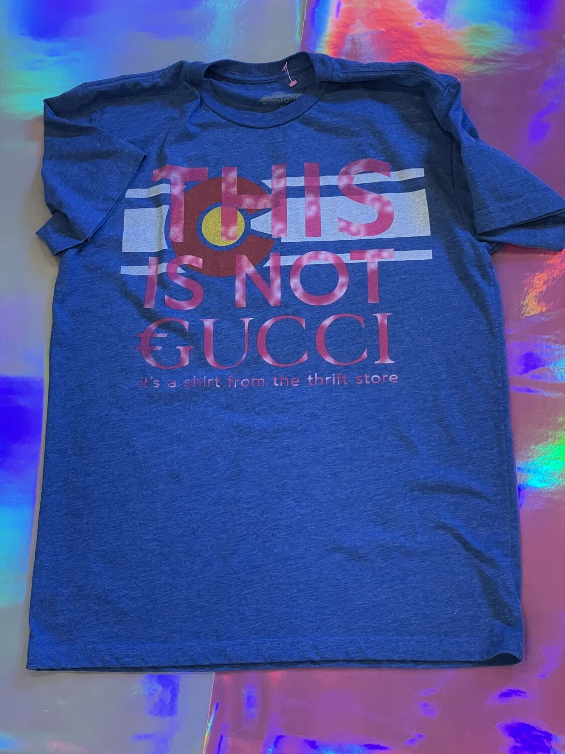 This Is Not €ucci - NFC clothing - Blue CO Shirt