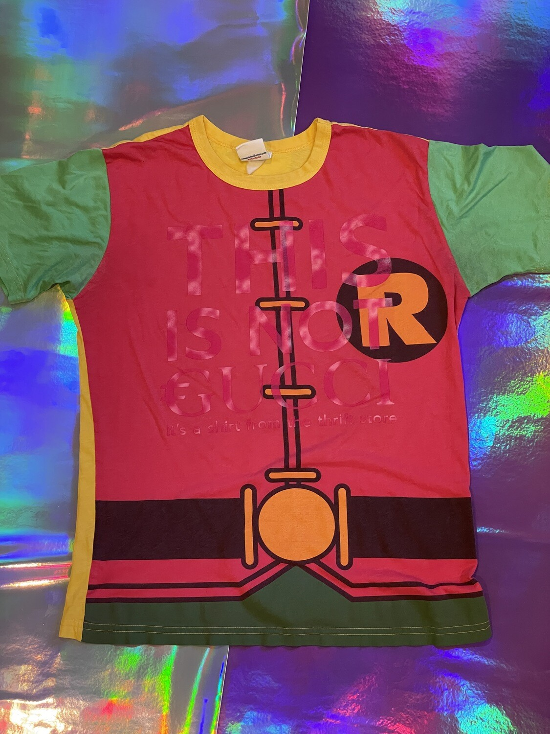 This Is Not €ucci - NFC clothing - Robin Theme Shirt