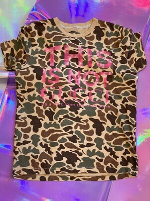 This Is Not €ucci - NFC clothing - Camo Shirt