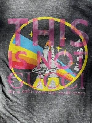 This Is Not €ucci - NFC clothing -  Rainbow NASA Shirt