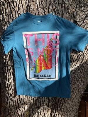 This Is Not €ucci - NFC clothing -  Rainbow Igualdad Shirt