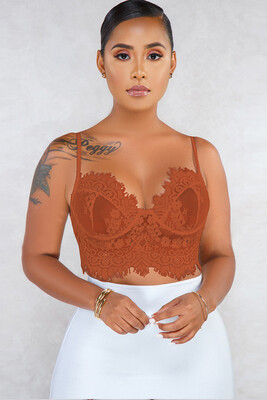 Milan Lace Brallette Top