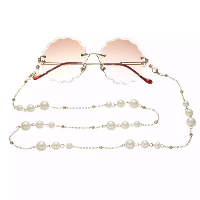 Too Chic Pearl Lanyard Sunglasses Chain
