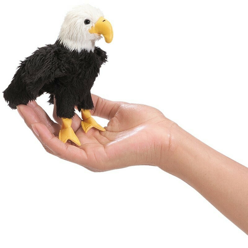 Bald Eagle Finger Puppet