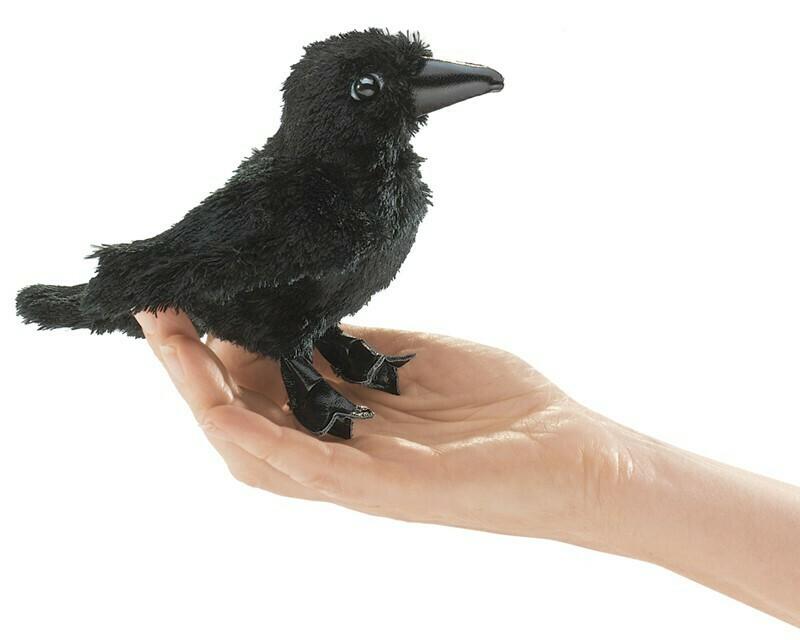 Raven Finger Puppet