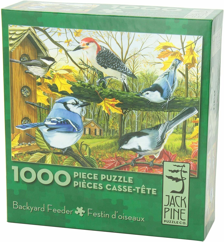 Puzzle-Backyard Feeder 1000pc