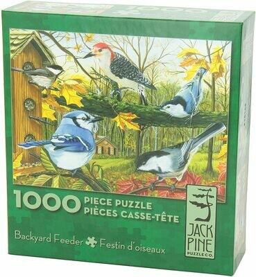 Puzzle-Backyard Feeder 1000pc