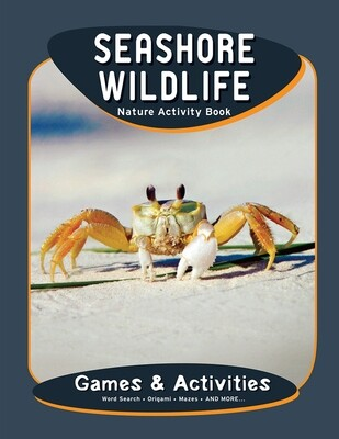 Nature Activity Book: Seashore Wildlife