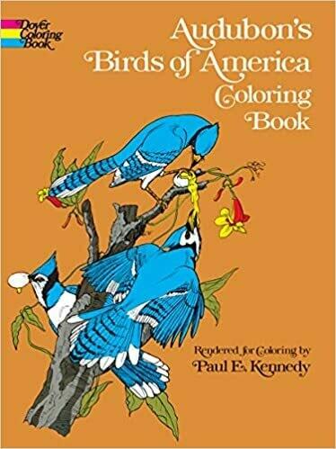 Birds of America Coloring