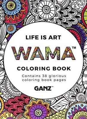 Life is Art - Coloring Book
