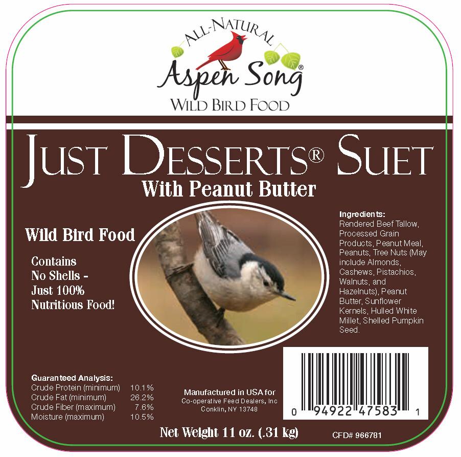 Just Deserts Suet