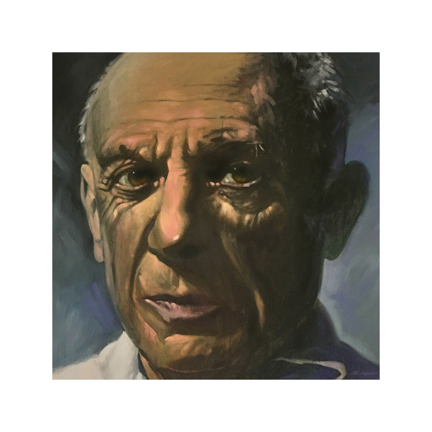 "Joe Chirichigno, ""My Father's Eyes"", A Portrait of Picasso"