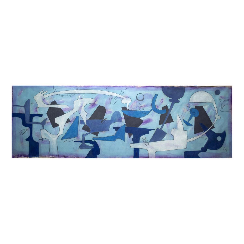 """Maximo Caminero, """"Melody in Blue"""""""