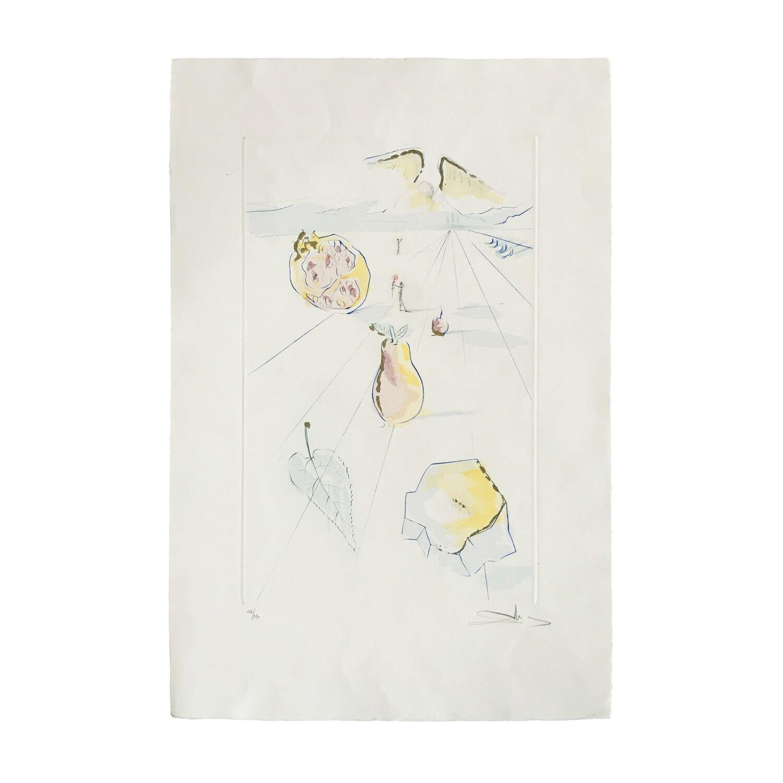 "Salvador Dalí, ""Les Fruits de la Vallée"""