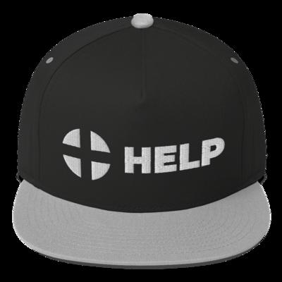 HELP Flat Bill Cap