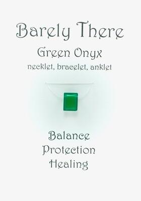 Green Onyx Emerald Facet
