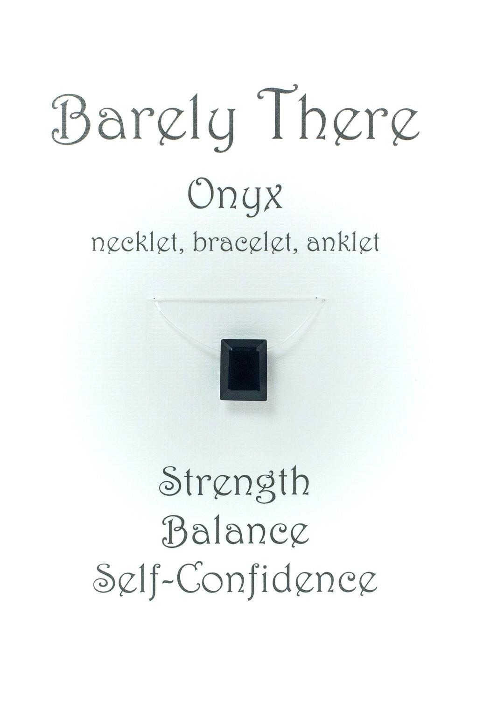 Black Onyx Emerald Facet