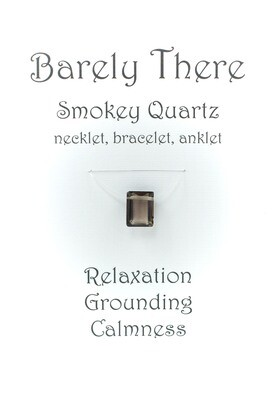 Smokey Quartz Emerald Facet