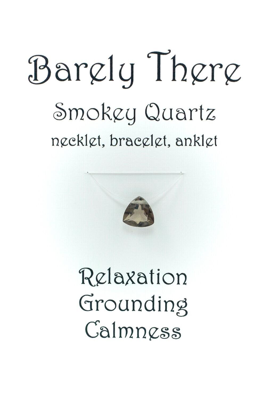 Smokey Quartz Trillion Facet