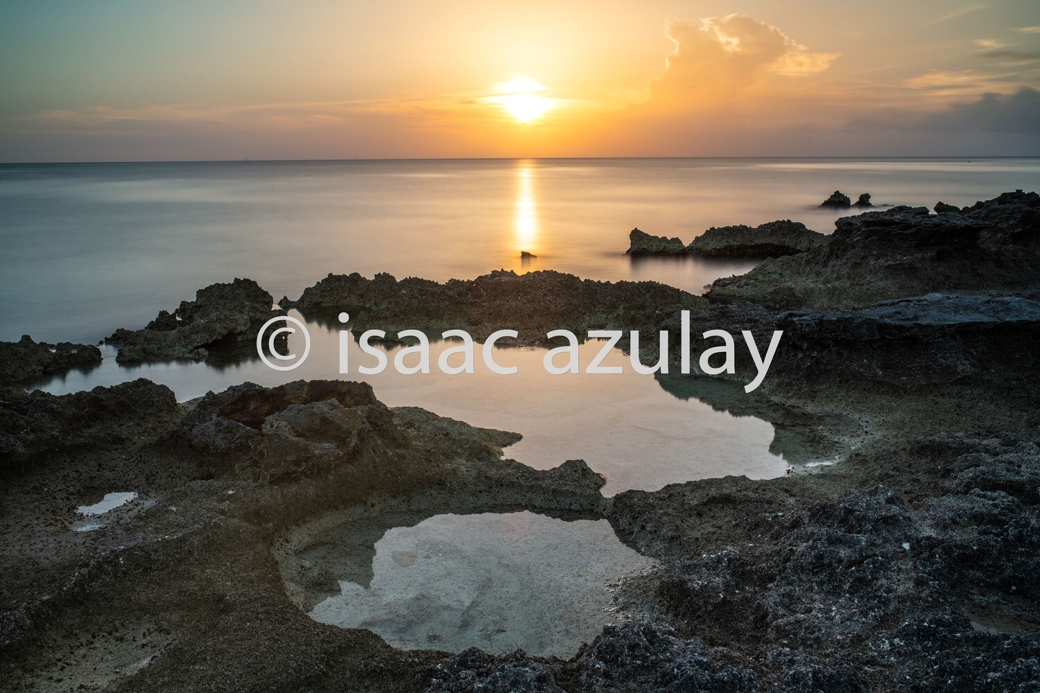 A Cayman's sunset