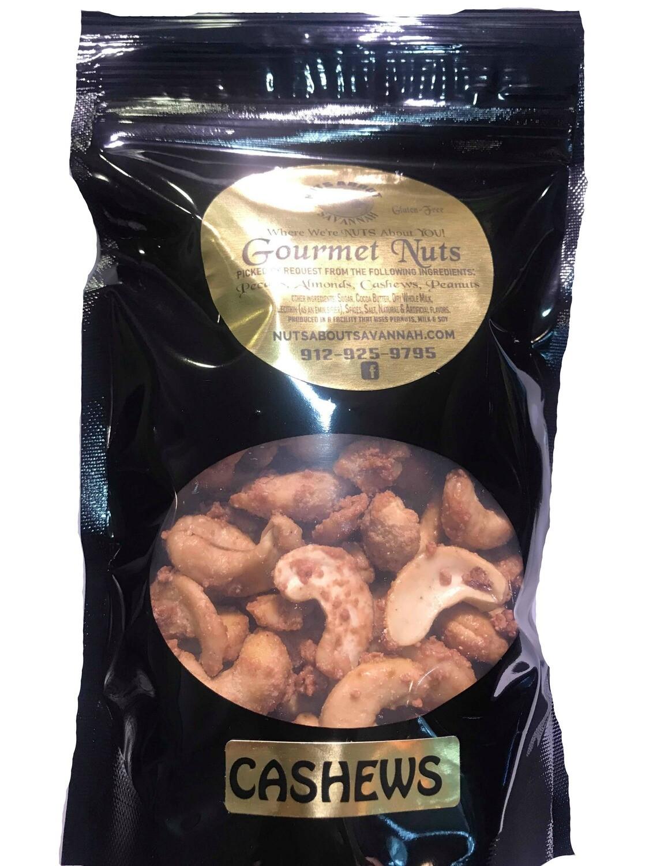 Cinnamon Glazed Cashews