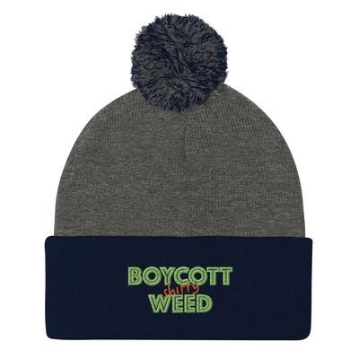 Boycott Lifestyle Pom-Pom Beanie