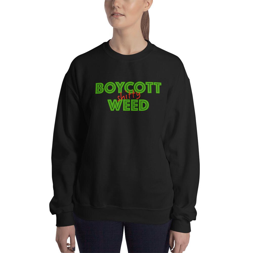 Boycott Lifestyle Unisex Sweatshirt