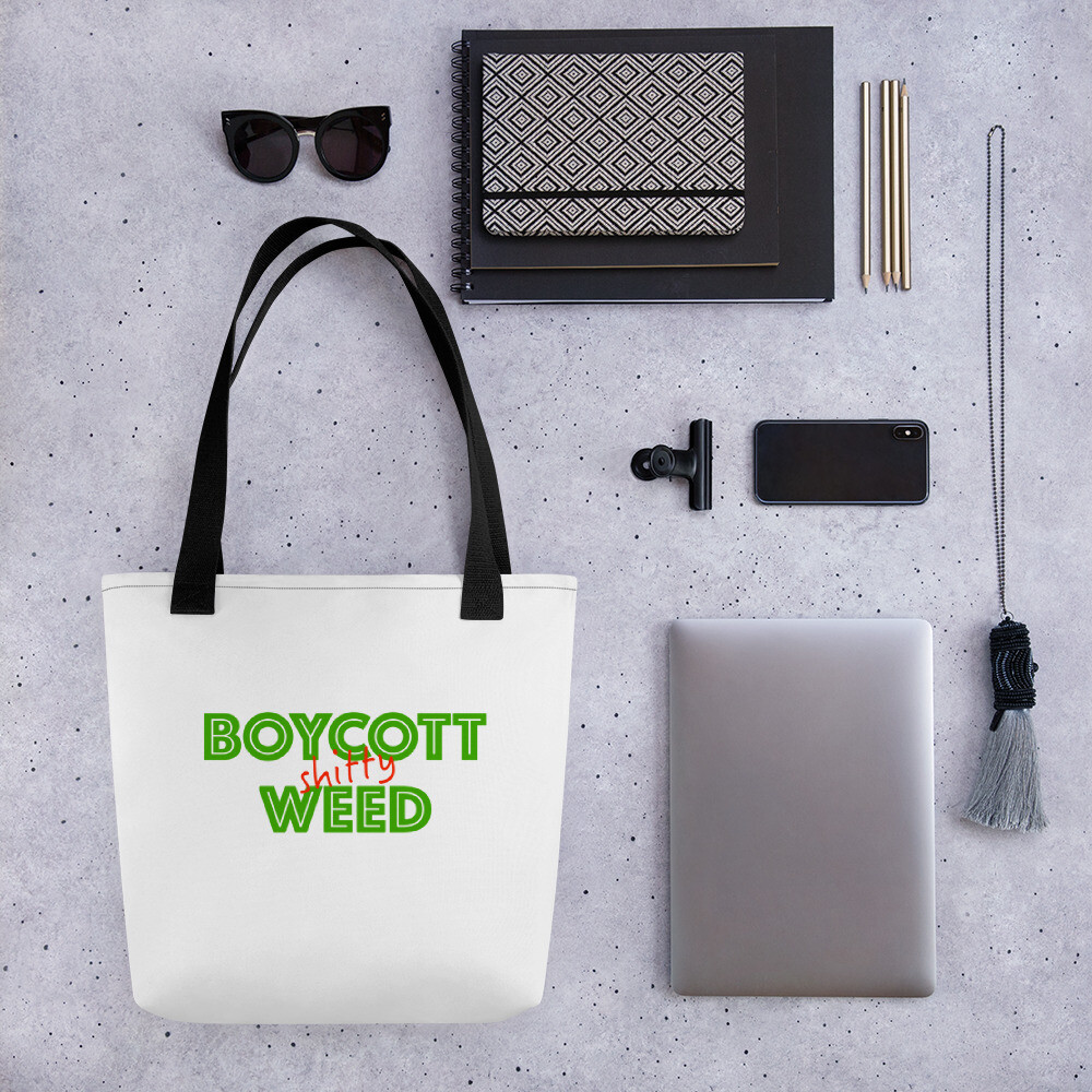 Boycott Lifestyle Tote Bag