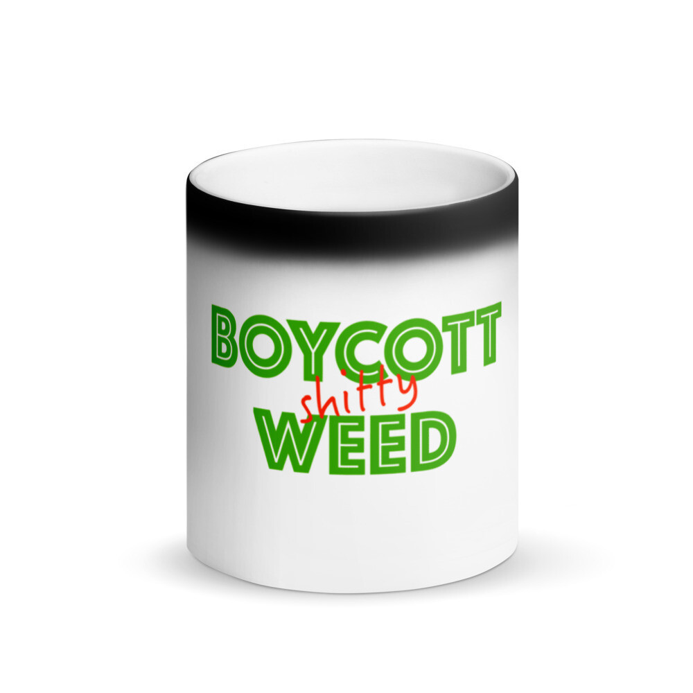 Boycott Lifestyle Magic Mug