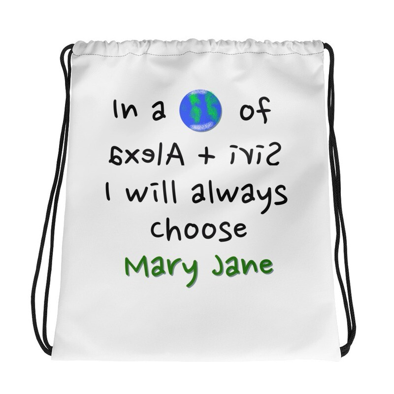 1&Only MJ Drawstring bag