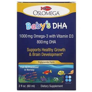 Oslomega, Norwegian Baby 嬰幼兒魚油滴劑(DHA + 維生素 D3)